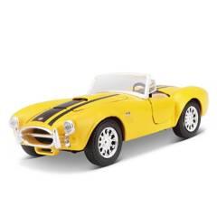 MAISTO - Vehiculo de Juguete 1965 Shelby Cobra Coleccionable 1:24