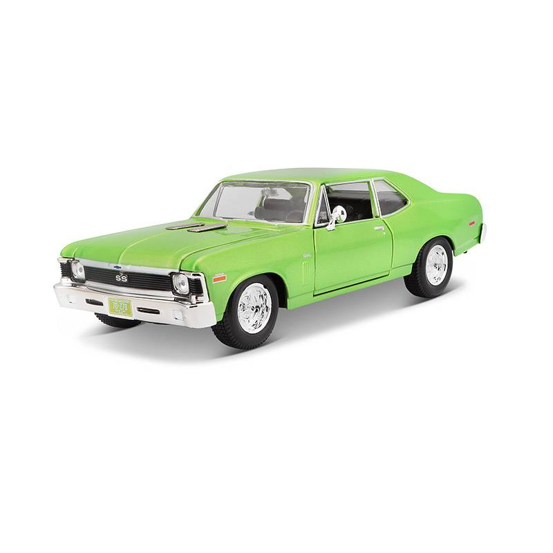 MAISTO - Auto Coleccionable 1:24 Chevrolet Nova 1970