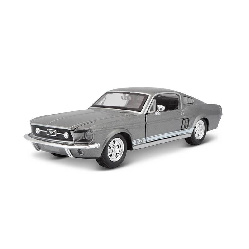 MAISTO - Auto Coleccionable 1:24 Ford Mustang GT 1967