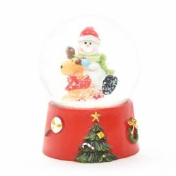MICA - Burbuja Snowman 1 9Cm