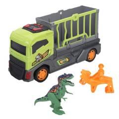 DINO VALLEY - Set de Juguetes Camión con Dinosaurio Luces Y Sonido