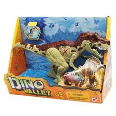 DINO VALLEY - Juguete Dinosaurio con Luz Y Sonido de 20cm