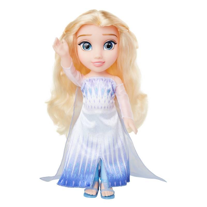 FROZEN - Muñeca Elsa Vestido Nuevo
