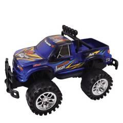 POWCO - Camioneta Monster Fricción 30 cm Azul