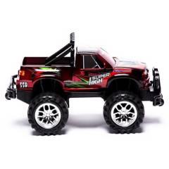 POWCO - Camioneta Monster Fricción 30 cm Rojo