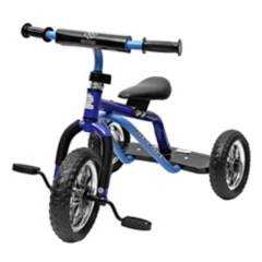 SCOOP - Triciclo Sin Pedales Clásico Azul