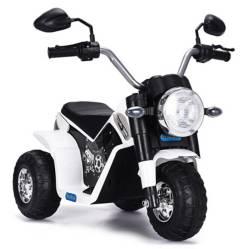 SCOOP - Moto a Batería Blanco