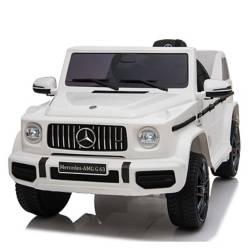 MERCEDES BENZ - Camioneta a Batería c/ Control Remoto Blanco