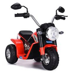 SCOOP - Moto a Batería Rojo