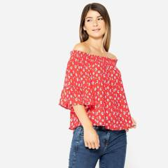 UNIVERSITY CLUB - Blusa Off Shoulder Mujer University Club