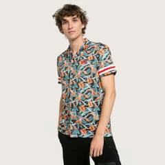 ECKO - Camisa Manga Corta Hombre