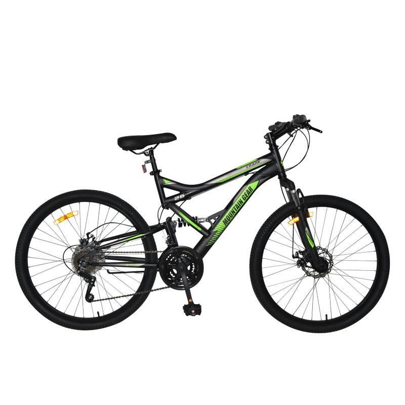 MOUNTAIN GEAR - Bicicleta Crane Aro 26