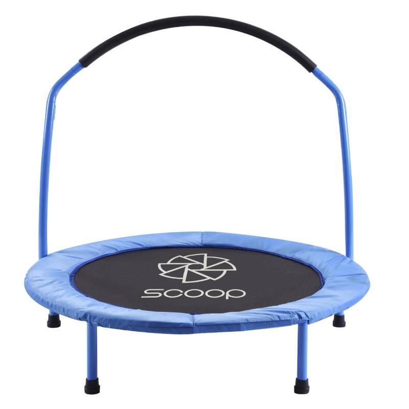 SCOOP - Cama Saltarina Azul 91 cm