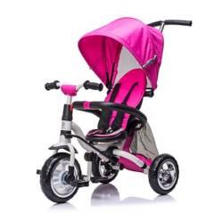 SCOOP - Triciclo Sin Pedales Plegable Rosado