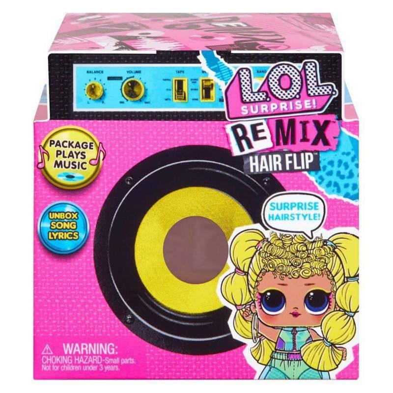 LOL - Muñeca Sorpresa Remix Hairflip