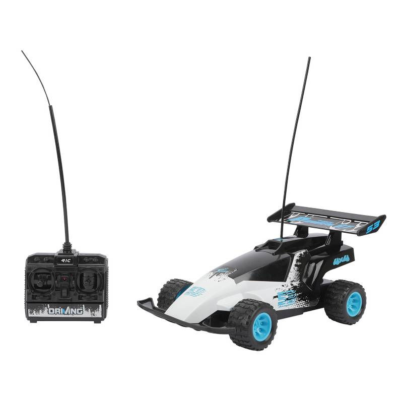 YIDAFENG - Vehiculo A Control Remoto Buggi Blanco con Negro