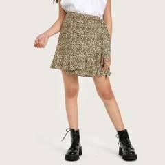 SYBILLA - Mini Falda Animal Print Mujer