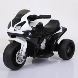 SCOOP - Moto a Batería Blanco/Negro