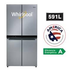 WHIRLPOOL - Refrigeradora 4 Puertas 591 L WQ9B1L