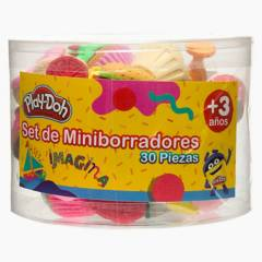 PLAY DOH - Set 30 Borradores Comida