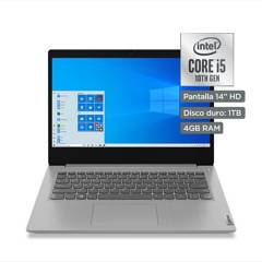 "LENOVO - Laptop 14"" IdeaPad Core i5 10ma Gen 4GB RAM 1TB - Pantalla HD"