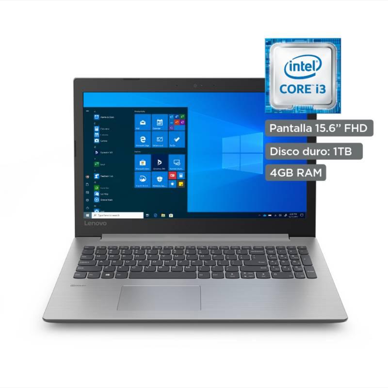 LENOVO - Laptop Core i3 4GB RAM 1TB - Full HD