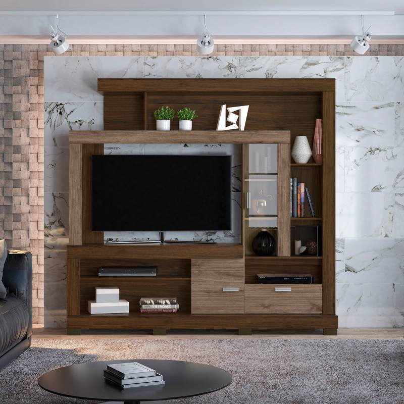 """BASEMENT HOME - Centro de TV 55""""Gran Acacia"""
