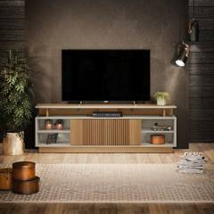 "BASEMENT HOME - Mesa de TV 70"" Leblon"