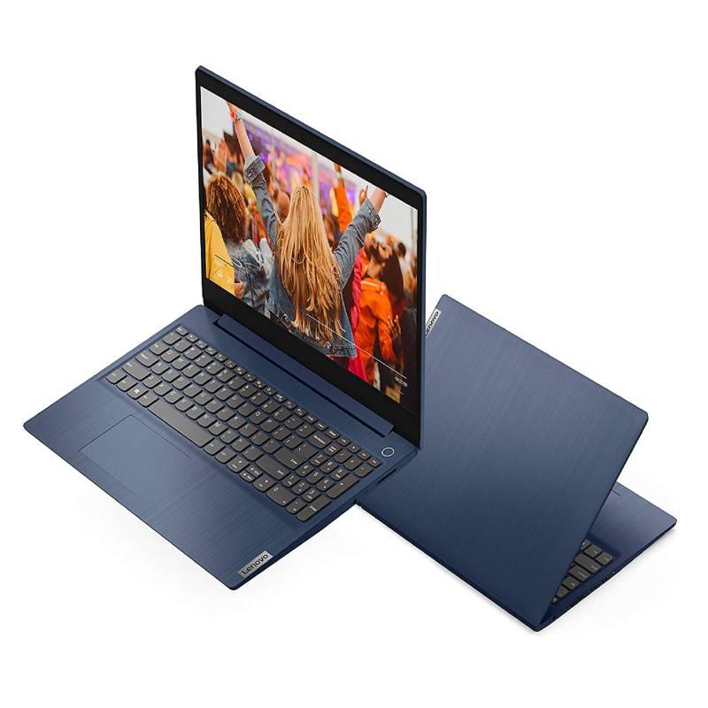 LENOVO -  Laptop Ideapad 3 Core i3 10ma Gen 8GB RAM  256GB SSD - Teclado en Ingles SSD