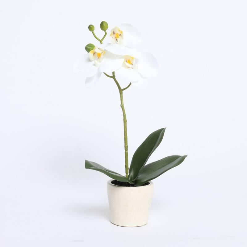 MICA - Orquidea Blanca 33Cm