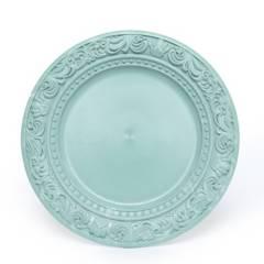 ROBERTA ALLEN - Plato de Sitio Romantic Verde 33 cm