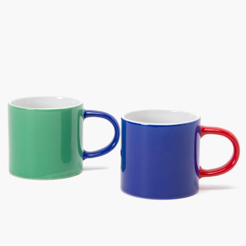 BENETTON - Set x2 Mugs Bicolor 220 ml