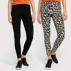 UNIVERSITY CLUB - Pack x2 Leggings Mujer University Club