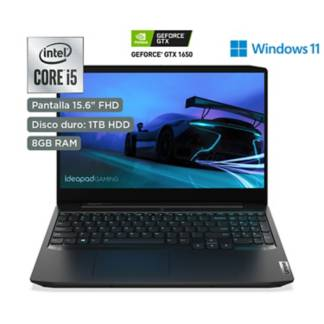 "LENOVO - IdeaPad Gaming 3i  Intel Core i5  15.6"" Full HD  1TB HDD  8GB RAM  Onyx Black"
