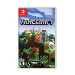NINTENDO - Juego Switch Minecraft