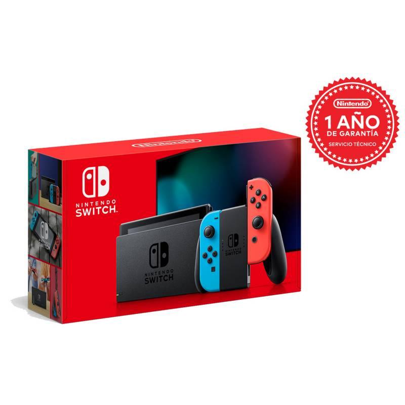 NINTENDO - Consola Nintendo Switch 1.1 Neon