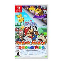 NINTENDO - Juego Switch Paper Mario The Origami King