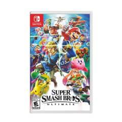 NINTENDO - Juego Switch Super Smash Bros Ultimate