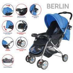 YAMP - Coche Cuna Berlín Azul