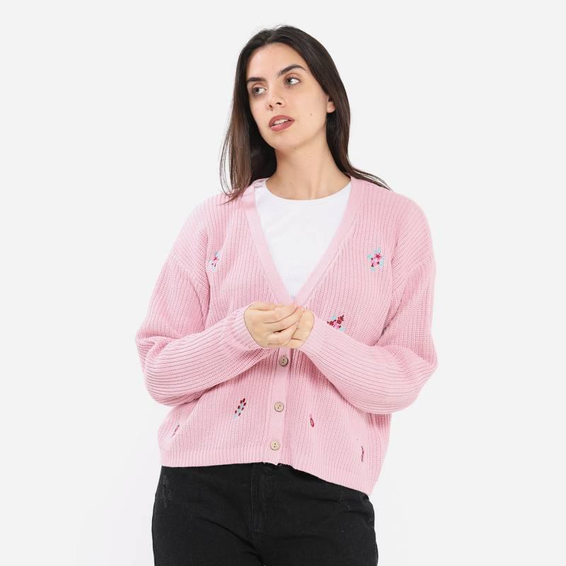 SYBILLA - Sweater Chaleco Mujer Sybilla
