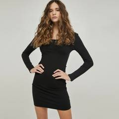 SYBILLA - Vestido Midi Mujer Sybilla
