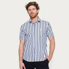 LA MARTINA - Camisa 100% Algodón Manga Corta Hombre