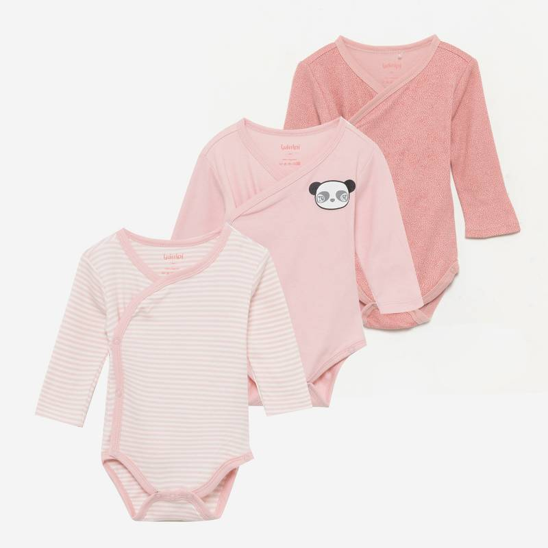 YAMP - Body Manga Larga Algodón Bebé Niña