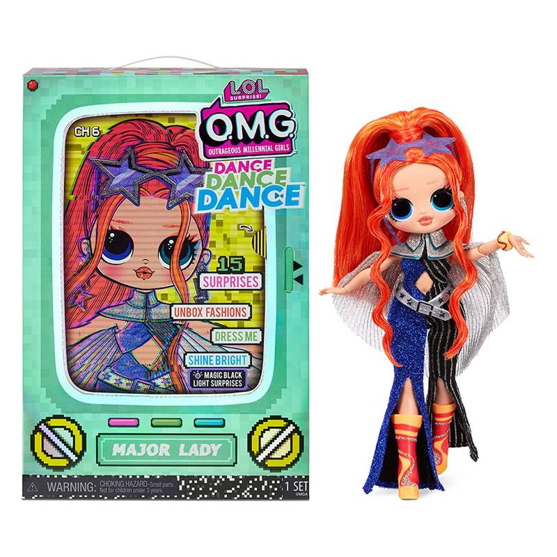 LOL - Muñeca OMG Dance Mayor Lady