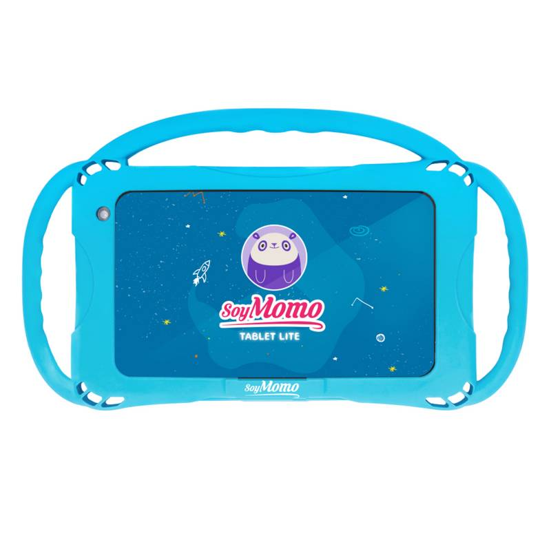 "SOYMOMO - SoyMomo Tablet Lite 7"" 2 GB RAM 16 GB WIFI Funda Azul"