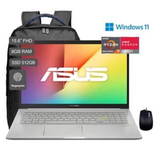 ASUS - VivoBook 15 M513 Ryzen 7 15.6'' FHD IPS 512GB SSD 8GB RAM - Gris