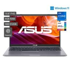"""ASUS - X515EA Core i7 11a Gen 15.6"""" FHD 512GB SSD 8GB RAM"""