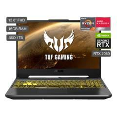 ASUS - Laptop Gamer ASUS TUF A15 FX506 15.6''  Ryzen 7