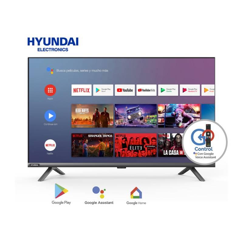 "HYUNDAI - Televisor LED 32"" HD Android TV  Borderless Bluetooth HYLED3248AIM"