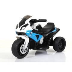 BMW - Moto a Batería 6V S1000 Azul